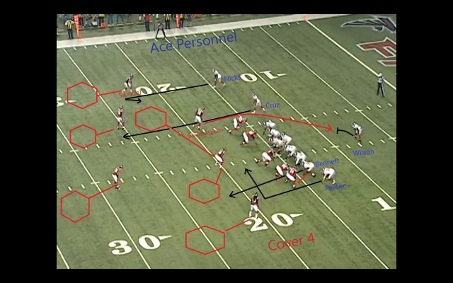 'All-22' formation of an atrocious Giants turnover vs Atlanta in 2012